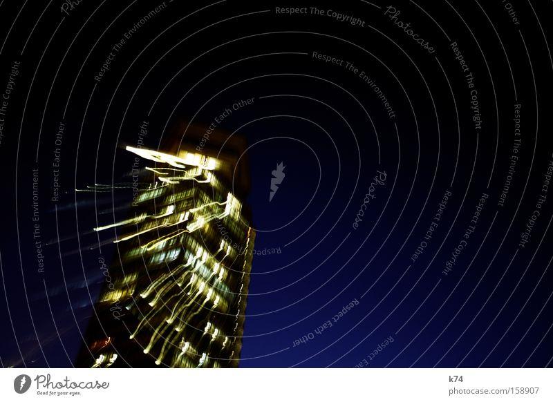 temps II High-rise Light Stress Blue Walking Sudden fall To fall Evening Fear Panic Long exposure