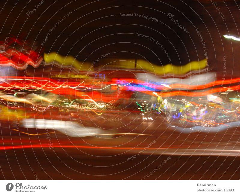 reeperbahn 01 Long exposure Exposure Reeperbahn Europe Germany Quarter Traffic light Colour Blur