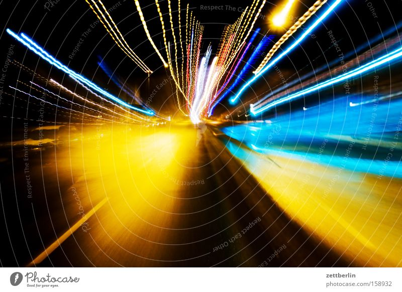 Street Transport Speed Light Obscure Sporting event Reaction Competition Zoom effect