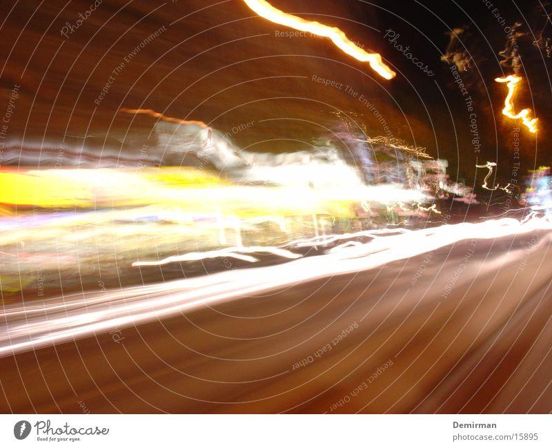reeperbahn 02 Long exposure Exposure Reeperbahn Europe Germany Quarter Traffic light Colour Blur