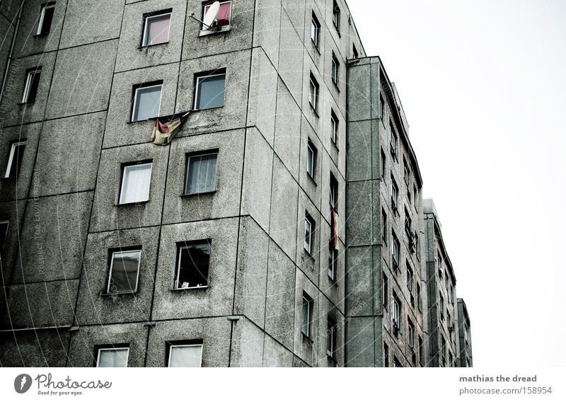 Dark Berlin Window Gray Building Line Dirty Architecture Germany Crazy Grief Federal eagle German Flag Distress