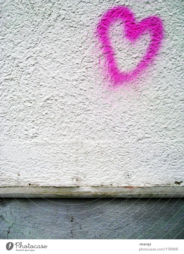 Von Herzen Love Graffiti Together Heart Birthday Characters Romance Lovesickness Infatuation Valentine's Day Free space Marriage proposal Love letter