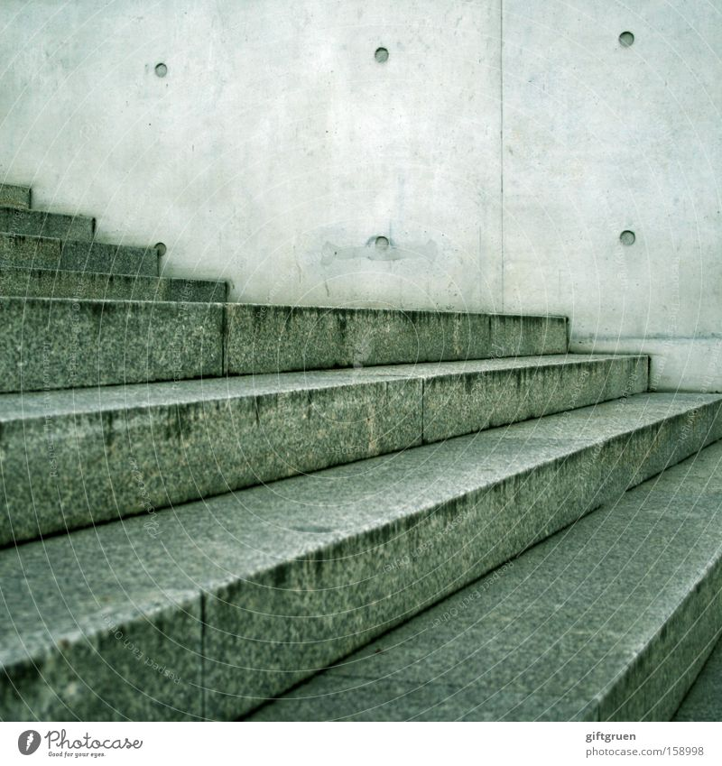 Gray Stone Line Concrete Transport Stairs Point Upward Downward Descent Minerals Zigzag Vanishing point