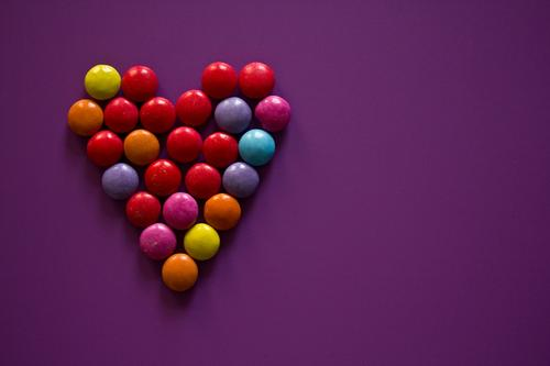 Remix |*3.400* Hz Food Candy Chocolate Nutrition Heart Love Sweet Multicoloured Violet Happy Acceptance Trust Romance Goodness Hospitality Dedication Altruism