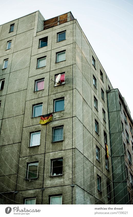 Dark Berlin Window Gray Line Dirty Architecture Germany Crazy Flag Transience Federal eagle German Flag Pride