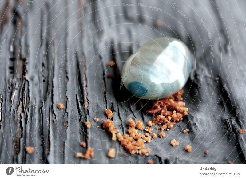 Blue Stone Orange Mirror Crack & Rip & Tear Crumbs Macro (Extreme close-up) Precious stone