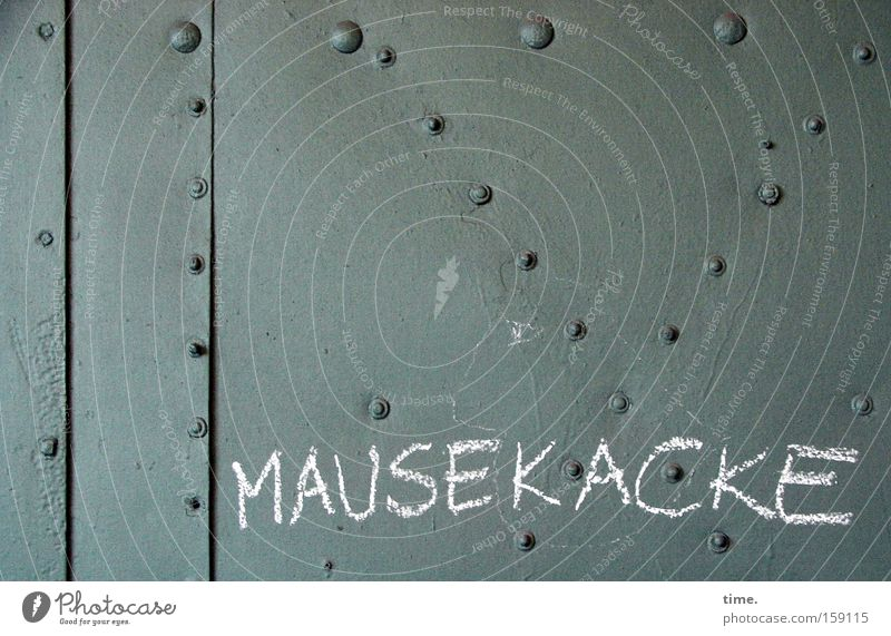 Green Graffiti Letters (alphabet) Steel Attempt Chalk Tin Stitching Rivet Meaning Steel plate
