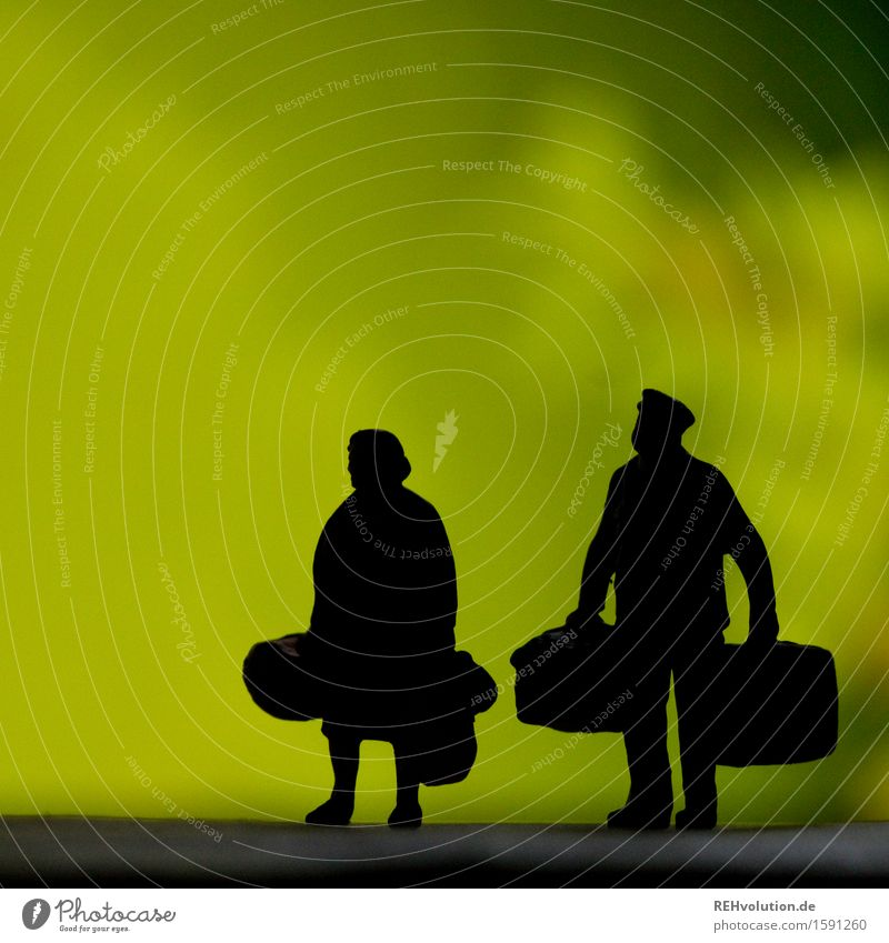 Human being Woman Vacation & Travel Man Old Green Relaxation Travel photography Adults Yellow Senior citizen Feminine Couple Going Masculine Power