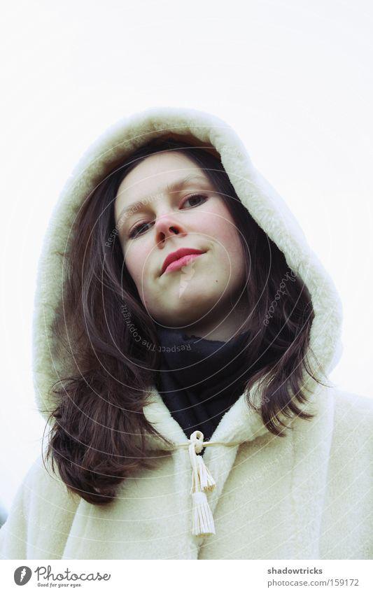 white White Winter Woman Portrait photograph Respect Arrogant Human being Snow Respectful