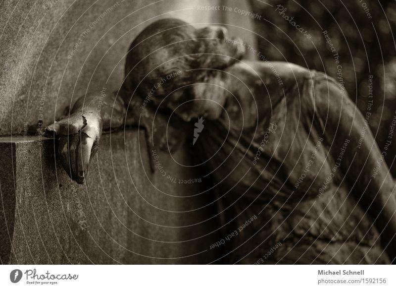 Old Hand Dark Sadness Emotions Feminine Death Moody Transience Grief End Fragile