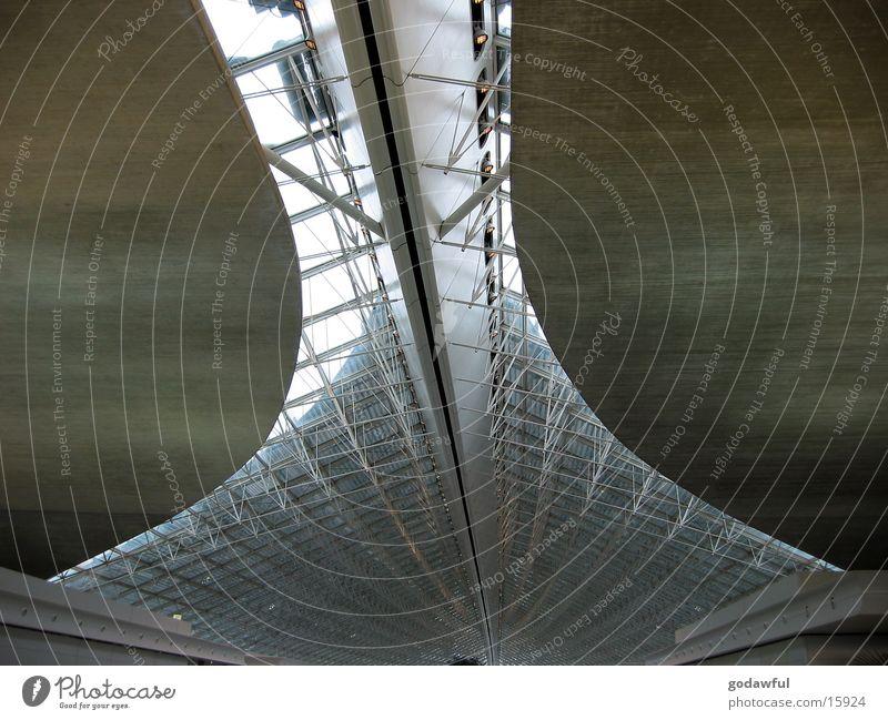Architecture Concrete Paris Airport Steel Blanket Carrier