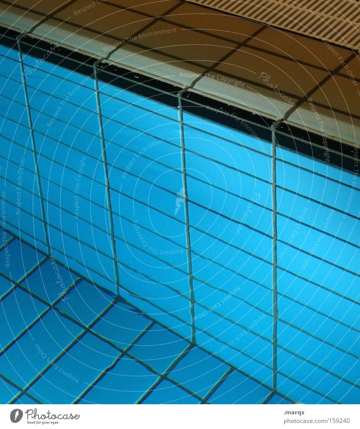 Blue Water Relaxation Sports Life Playing Line Leisure and hobbies Wet Lifestyle Swimming pool Illustration Wellness Dive Tile Well-being