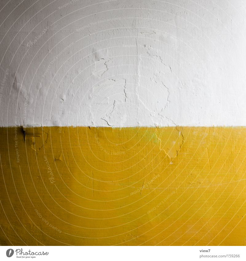 monotony White Yellow Colour Paintwork Plaster Surface Contract Varnish Wall (building) Wall (barrier) Room Corner Contrast Yolk Detail Hallway map