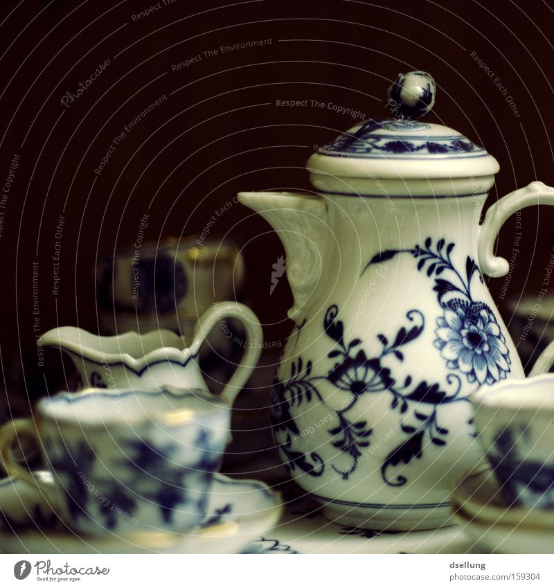Calm Style Art Decoration Tea Serene Crockery Past Cup To enjoy Fragile Sense of taste Arts and crafts  Porcelain