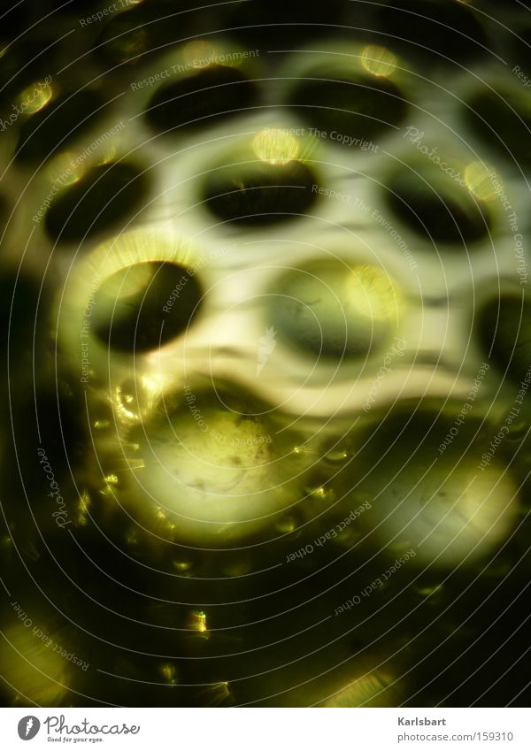 Green Colour Dark Architecture Stone Dream Dye Art Glass Glass Modern Crazy Stripe Round Decoration Mysterious