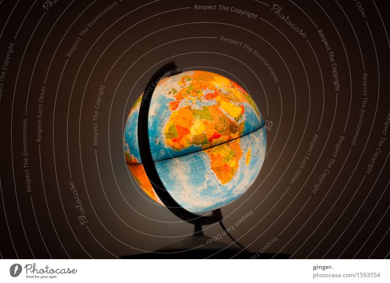 700 But we've only got this one world. Earth Multicoloured Globe Planet Round Rotate Equator Opinion Axial Things Illuminate Bright Colours Dark Lighting
