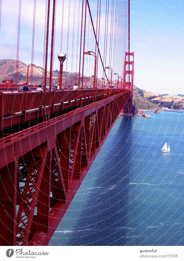 Golden Gate Bridge Steel USA San Francisco Architecture