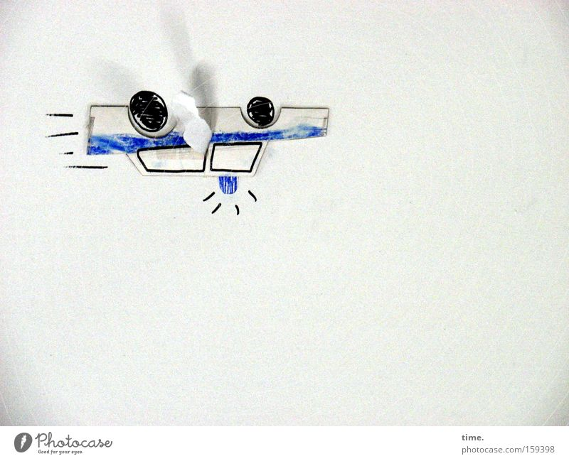 Car Blue Wall (building) Art Flying Paper Communicate Culture Craft (trade) Painting and drawing (object) Hover Motor vehicle Drawing Opposite Police car