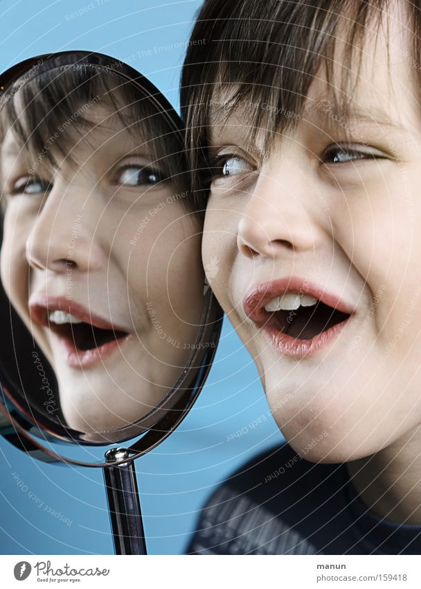 Child Youth (Young adults) Joy Boy (child) Happy Laughter Grimace Joke Recklessness