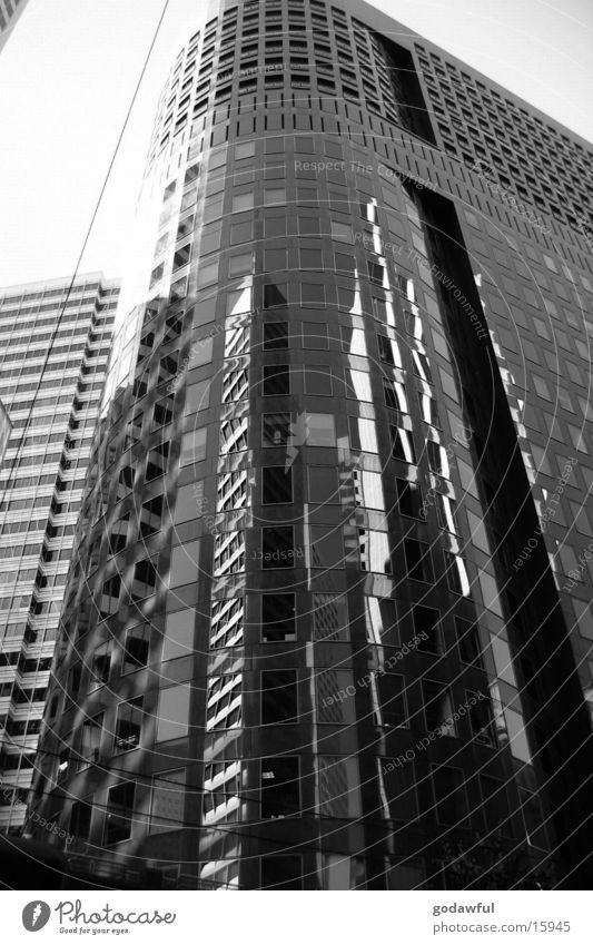 business district High-rise Town San Francisco Reflection Window Architecture Downtown Modern