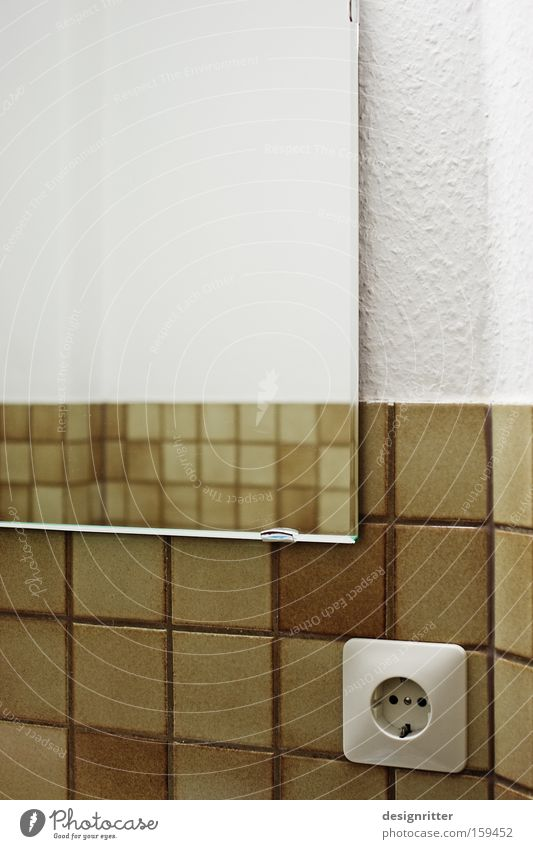 Think Modern Retro Bathroom Transience Mirror Tile Past Socket Vista Old fashioned Insight