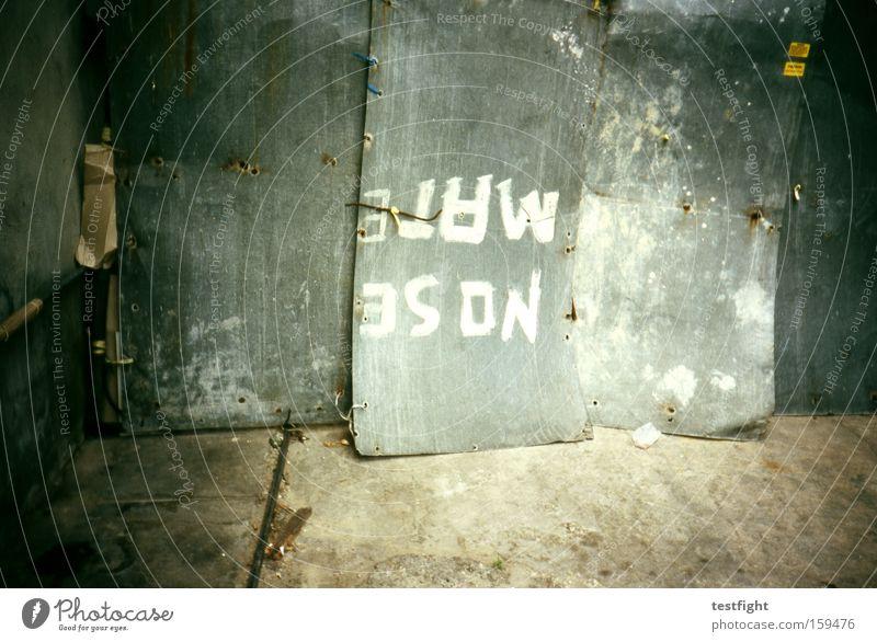 Metal Safety Protection Analog Border Hide Tin Exclude Encase