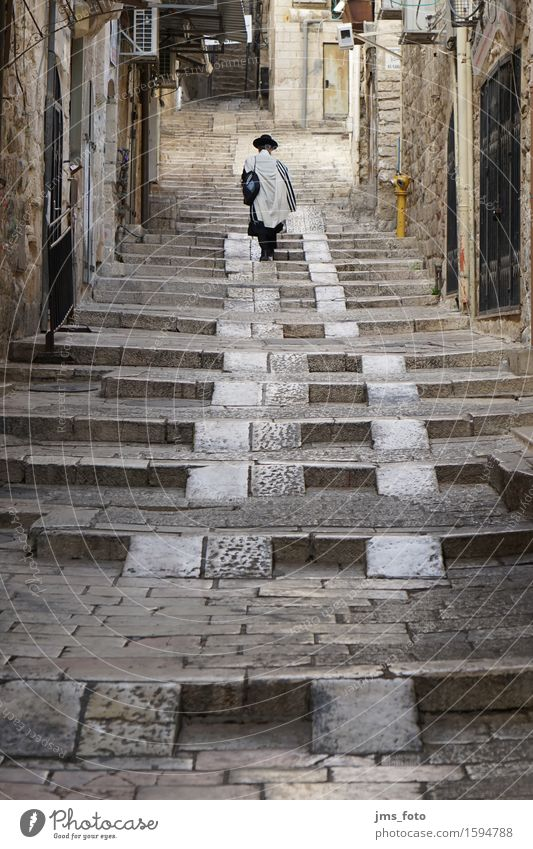 Human being City Adults Religion and faith Masculine Belief Wisdom Israel Judaism 30 - 45 years West Jerusalem