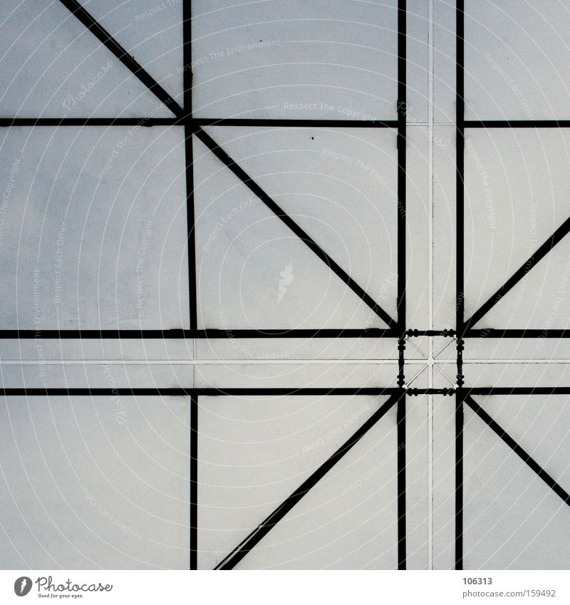 Heaven Line Modern Corner Roof Graphic Connection Construction Square Vertical Prop Rectangle Across Axle Crossbeam At right angles