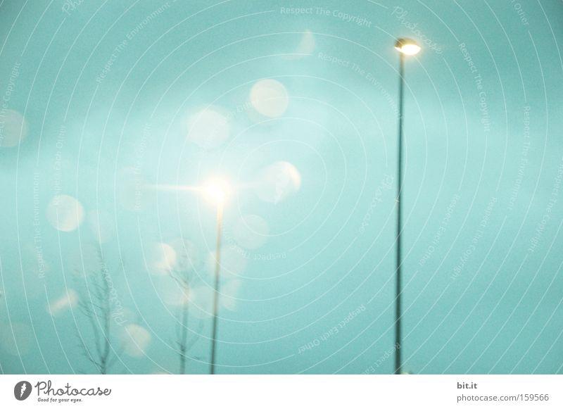 Sky Blue Cold Sadness Lamp Horizon Dream Weather Energy industry Fresh Point Frost Desire Lantern Light Night life