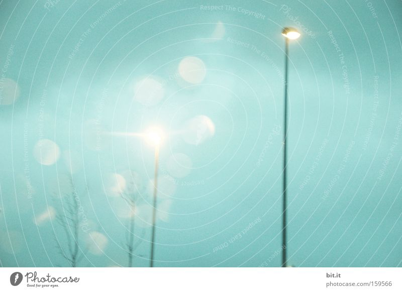 Sky Blue Cold Sadness Lamp Horizon Dream Weather Energy industry Fresh Point Frost Desire Lantern Light Night life