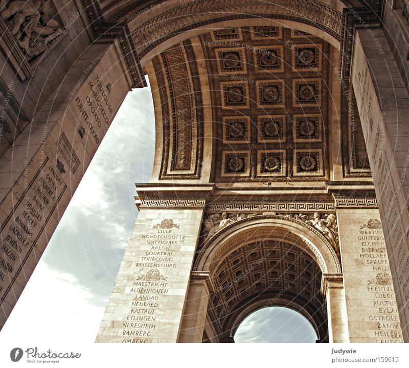 Old Vacation & Travel Summer Far-off places Architecture Building Tourism Manmade structures Paris Gate Past Monument Historic Landmark France