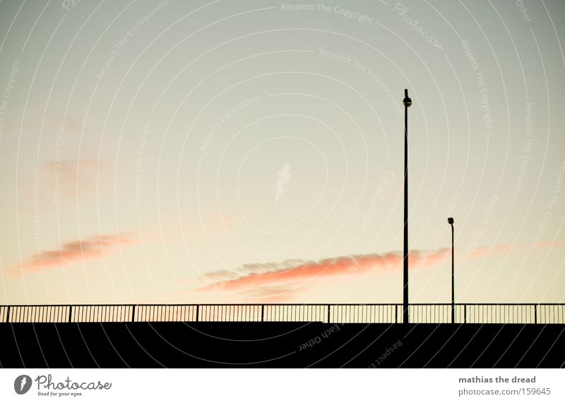 Sky Nature Beautiful Clouds Black Street Death Architecture Pink Esthetic Romance Idyll Trust Lantern Fence Motionless