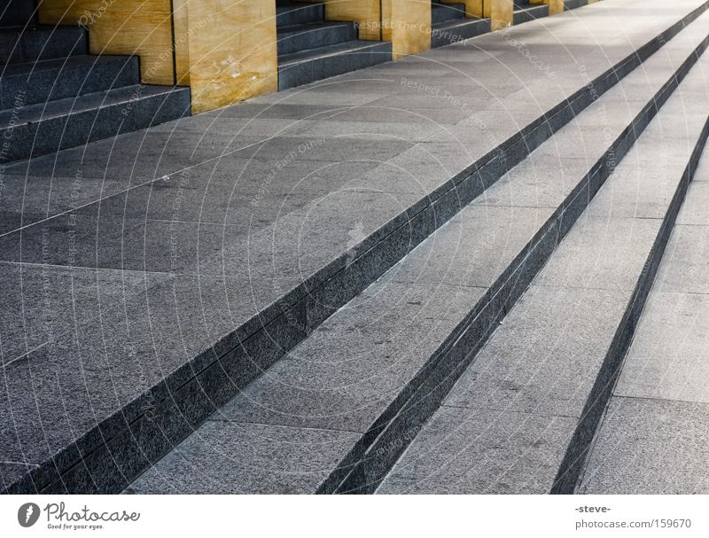 diagonal Architecture Stairs Sharp-edged San Jose church Corner Geometry Colour Guide Diagonal Colour photo Exterior shot Pattern Structures and shapes Deserted