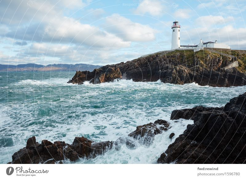 Fanad Lighthouse I Environment Nature Landscape Sky Spring Coast Bay Ocean Tourist Attraction Navigation Water Discover Relaxation Looking Esthetic Sharp-edged