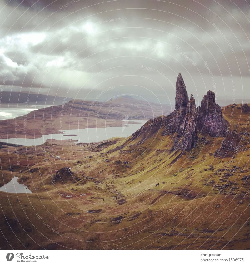 The Old Man of Storr Healthy Fitness Vacation & Travel Tourism Trip Adventure Far-off places Island Mountain Hiking wanderlust Environment Nature Landscape