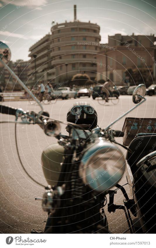 Classic Bike Motorcycle Vintage Style Design Freedom Engines Rockabilly Places Vintage car Suitcase Helmet Retro Joie de vivre (Vitality) Power chrome classic