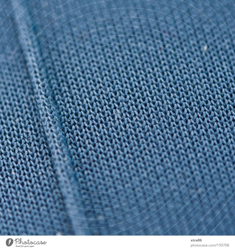 my leg Cloth Pants Blue Loop Woven Macro (Extreme close-up) Knit Background picture Structures and shapes Material Close-up
