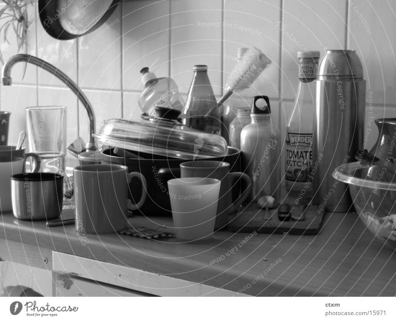 Kitchen Crockery Do the dishes Cleaning