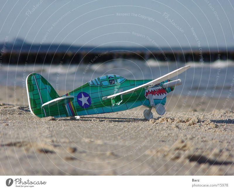 aviator Airplane Beach Ocean Macro (Extreme close-up) Leisure and hobbies