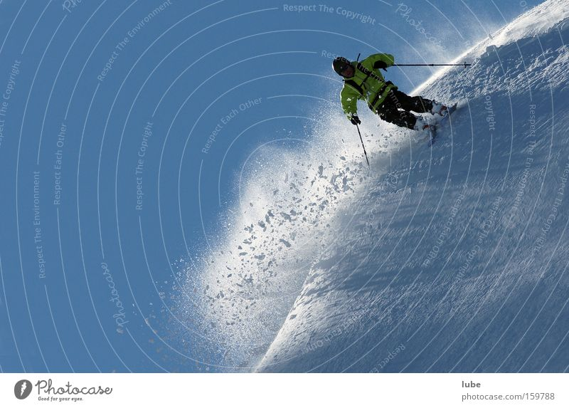 Winter Sports Snow Playing Snowfall Skiing Skis Skier Winter sports Deep snow Avalanche Powder snow Telemark