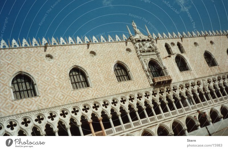 venetian Venice Palace of Doge St. Marks Square Town Italy Tourist Architecture Adriatic Sea Sewer