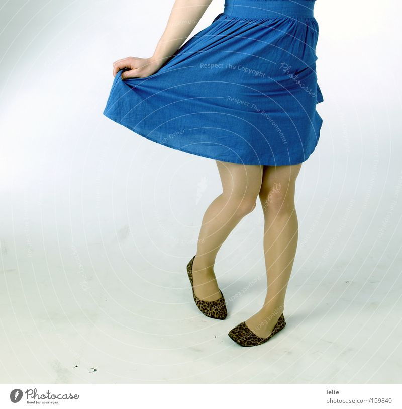 And when she dances... Blue Pattern Panther Footwear Ballet Hand Dress White Ease Joy Woman Legs Feet Dance Wrinkles