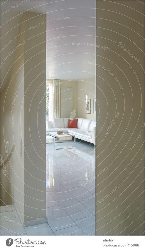 White Architecture Sofa Living room