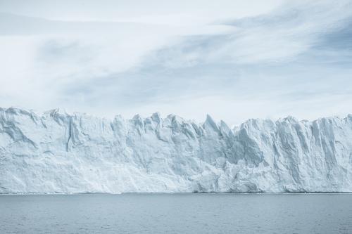 Blue Water White Cold Coast Ice Transience Change Frost Past Glacier Climate change Gigantic Perito Moreno Glacier