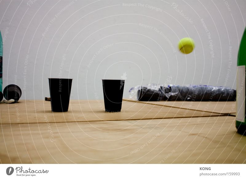 passing by Tennis Ball Movement Speed Misplaced Flying Mug Yellow Motion blur Side Strike Joy Leisure and hobbies Ball sports Aviation stricken