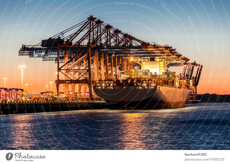 Moody Logistics Harbour Tourist Attraction Navigation Trade Container Port City Precision Means of transport Container ship