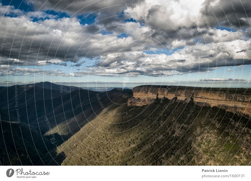 Katoomba Beautiful Harmonious Well-being Contentment Senses Relaxation Vacation & Travel Adventure Summer Mountain Nature Landscape Elements Earth Sky Clouds