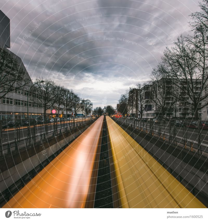 A thousand times back and forth Capital city Downtown House (Residential Structure) High-rise Train station Tunnel Wall (barrier) Wall (building)