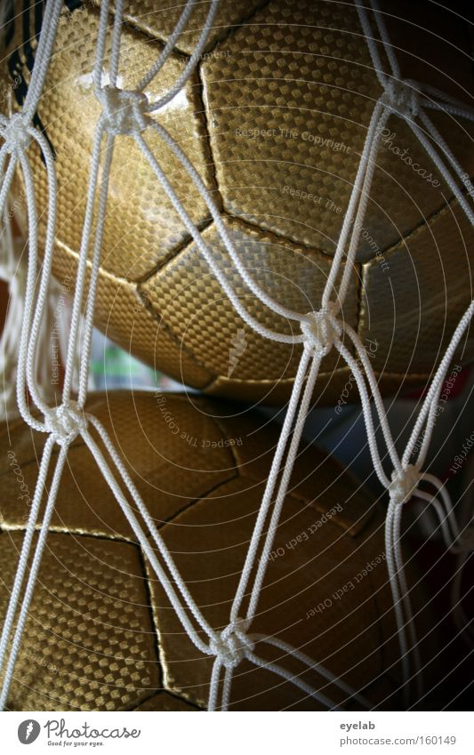 Joy Sports Playing Gold Soccer Ball Logistics Net Collection Equipment Sewing thread Basketball Sports equipment Hand ball Ball sports Hexagon