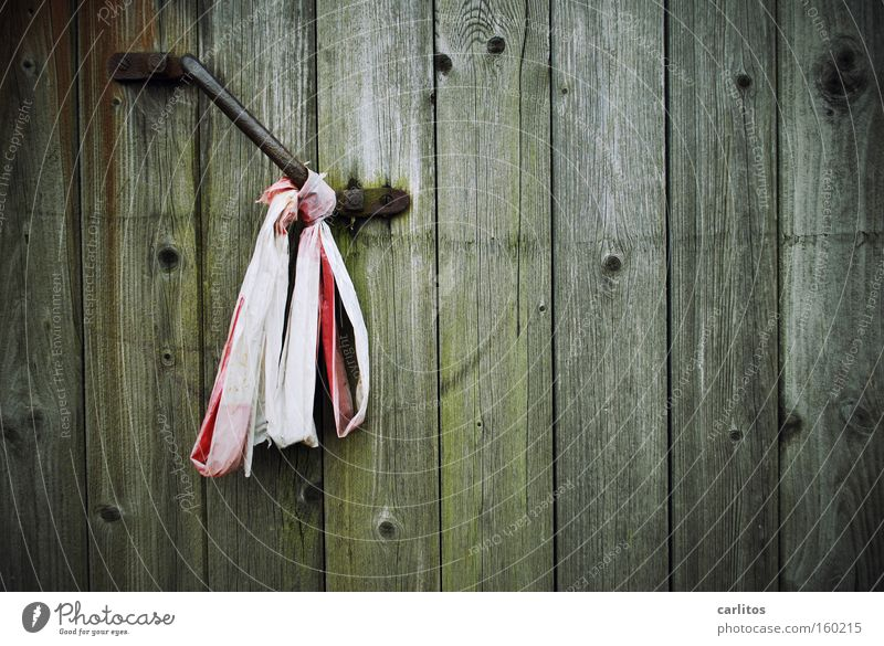 Old Wood Fear Door Closed Safety Dangerous Threat Gate Derelict Decline Rust Entrance Wooden board Barrier Panic